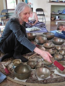 At the Elfin Forest Qigong Studio with Martha Blane, 2010